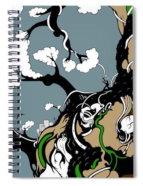 Humanity Rising Spiral Notebook