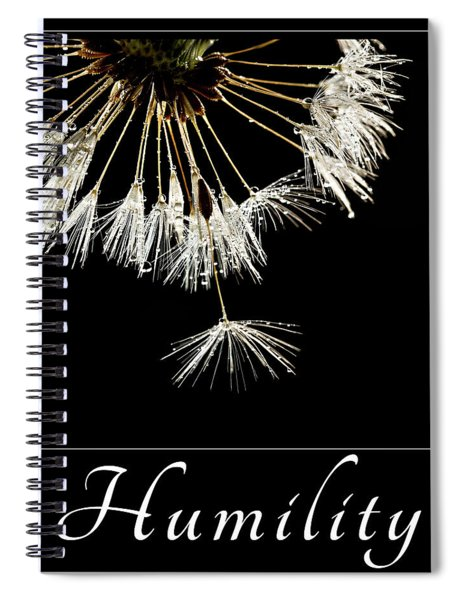 Humility Spiral Notebook