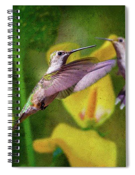 Hummingbirds In Virginia Spiral Notebook