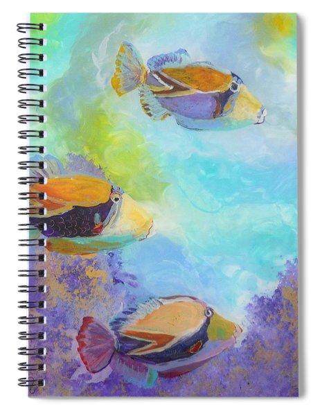 Humuhumu 6 Spiral Notebook