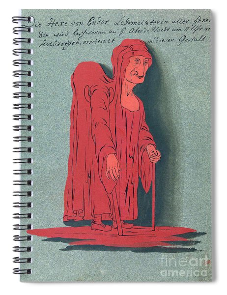 Hunch-backed Woman, 18th Century Spiral Notebook
