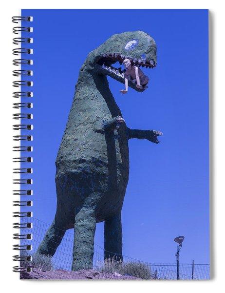 Hungry Dinosaur Spiral Notebook
