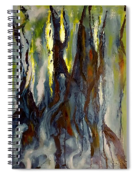 Hunted Forest Spiral Notebook