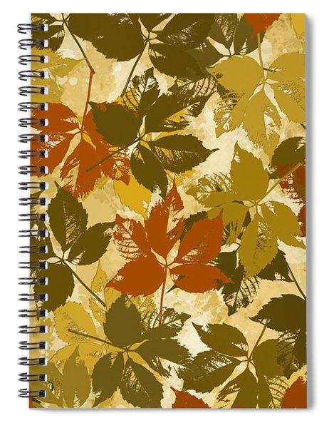 Hunter Of Leaves  Spiral Notebook
