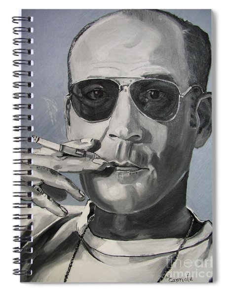 Hunter Thompson Spiral Notebook