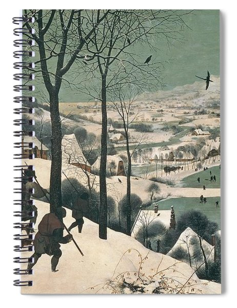 Hunters In The Snow Spiral Notebook