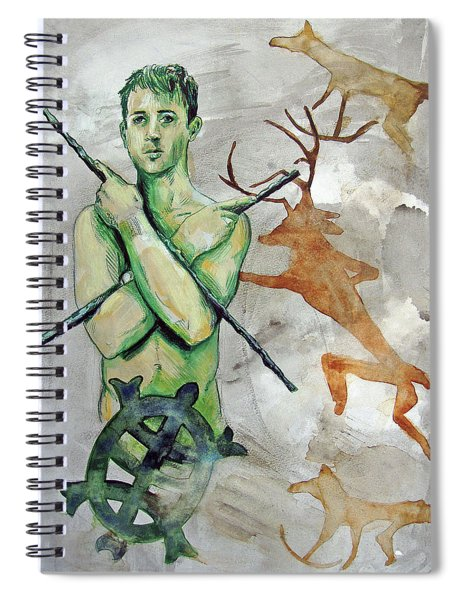 Youth Hunting Turtles Spiral Notebook
