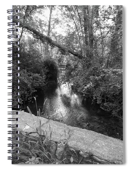 Huron River Tributary Spiral Notebook