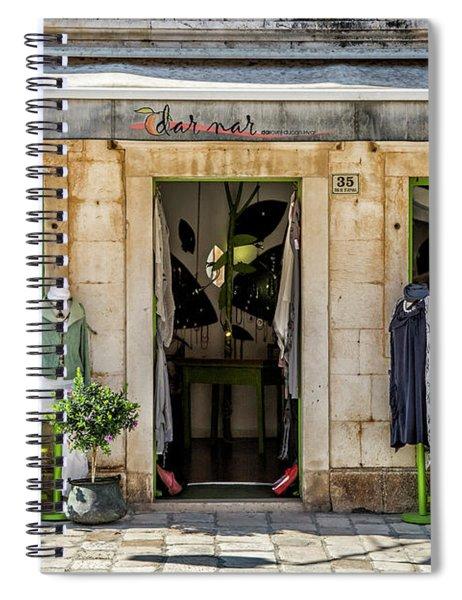 Hvar Shop Spiral Notebook