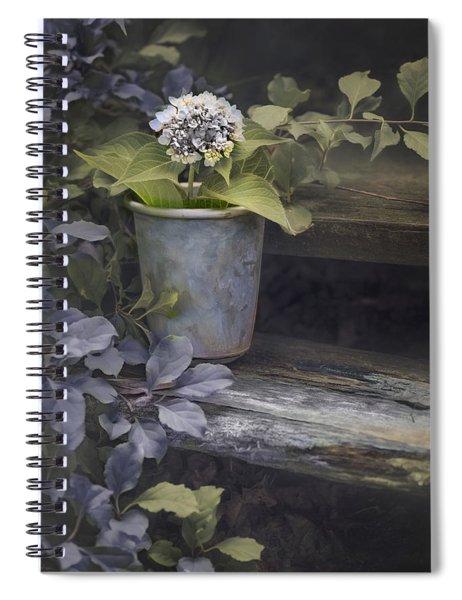 Hydrangea Eve Spiral Notebook