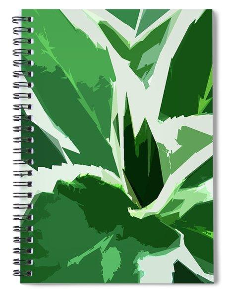 Spiral Notebook featuring the digital art Hydrangea by Gina Harrison
