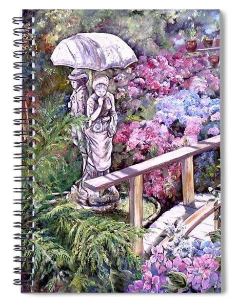 Hydrangea In The Formosa Gardens Spiral Notebook