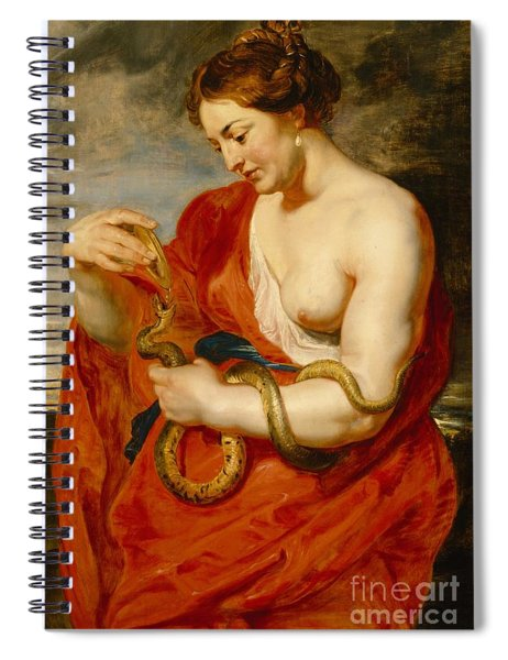 Hygeia - Goddess Of Health Spiral Notebook