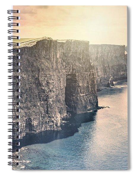 Hymn Of The Cliffs Spiral Notebook