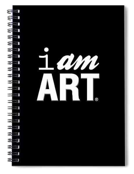 I Am Art- Shirt Spiral Notebook