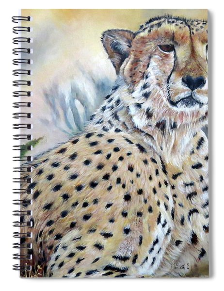I Am Cheetah 2 Spiral Notebook