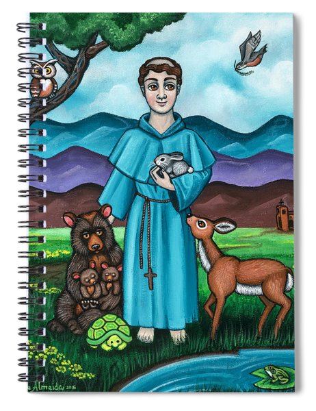 I Am Francis Spiral Notebook
