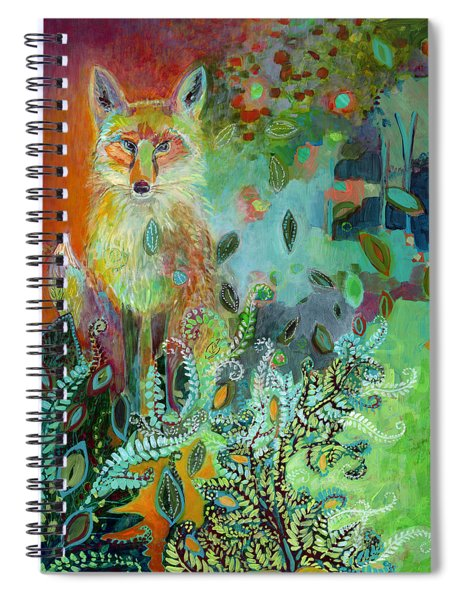 I Am The Forest Path Spiral Notebook