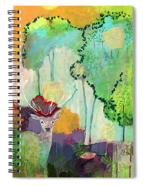 I Am The Meadow In The Forest Spiral Notebook