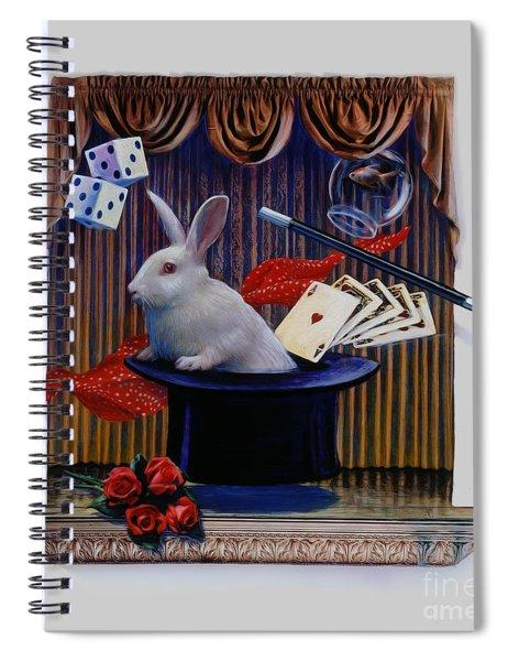 I Believe In Magic Spiral Notebook