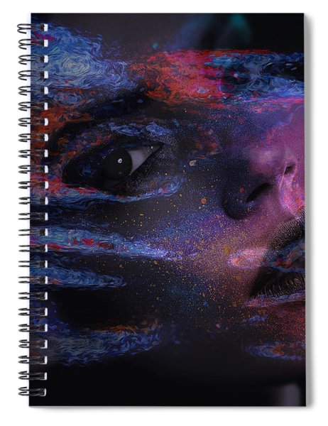 I Breathe Art Therefore I Am Art Spiral Notebook