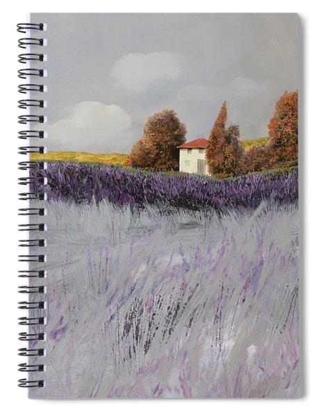 I Campi Di Lavanda Spiral Notebook