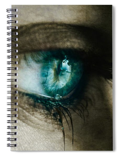 I Cried For You  Spiral Notebook