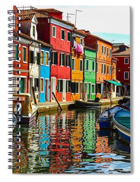 I Dream In Color Spiral Notebook