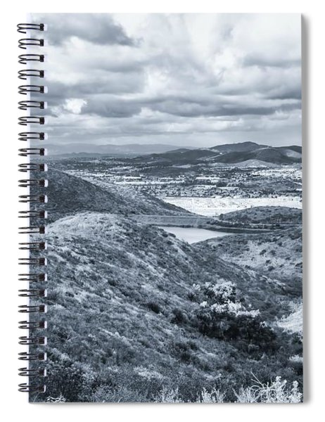 Spiral Notebook featuring the photograph I Found My Thrill by Alison Frank