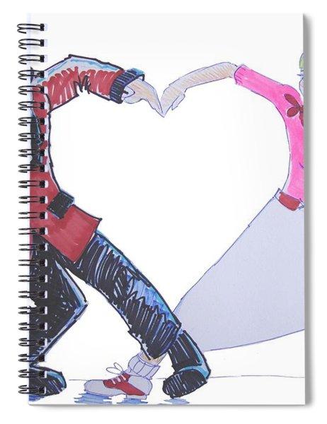 I Love Rock 'n' Roll Spiral Notebook
