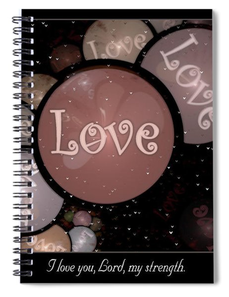 I Love You Spiral Notebook