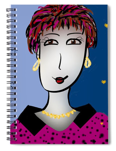 I Meet The Nicest People On Life's Highway Spiral Notebook