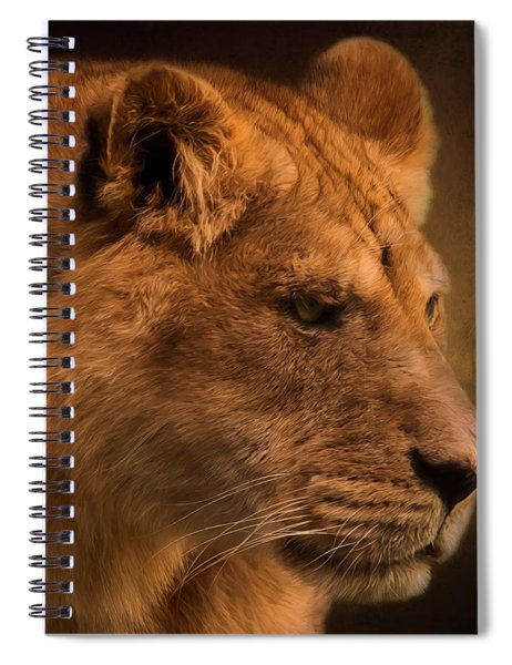 I Promise - Lion Art Spiral Notebook