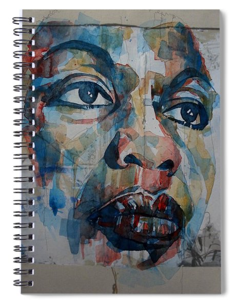 I Put A Spell On You - Nina Simone  Spiral Notebook