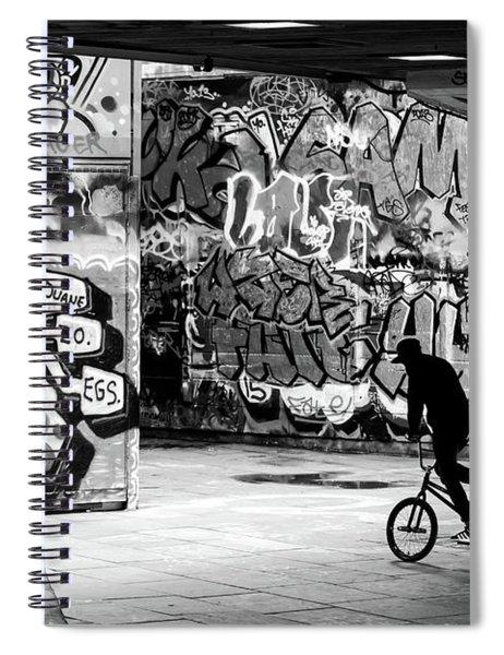 I Ride Alone Spiral Notebook