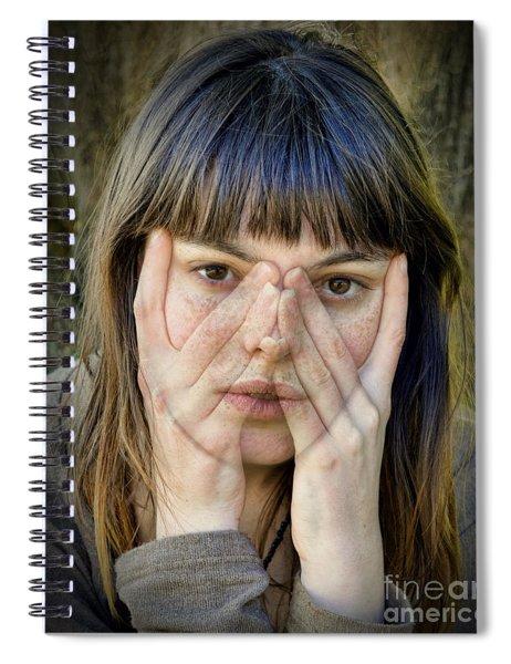 I See You Too II Spiral Notebook