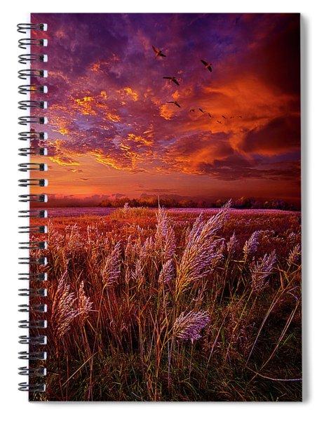 I Spoke To God Today Spiral Notebook