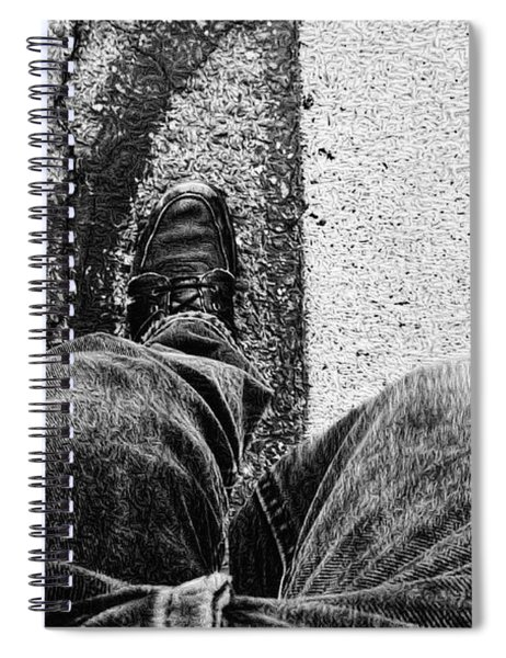 I Walk The Line Spiral Notebook