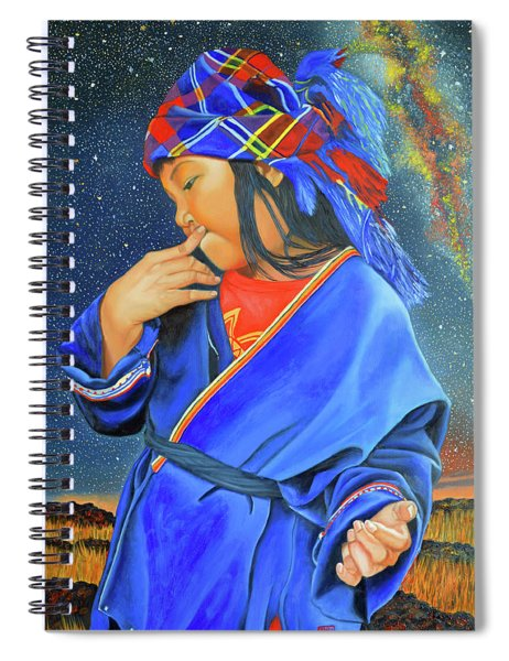 I Want To Put A Ding In The Universe Spiral Notebook