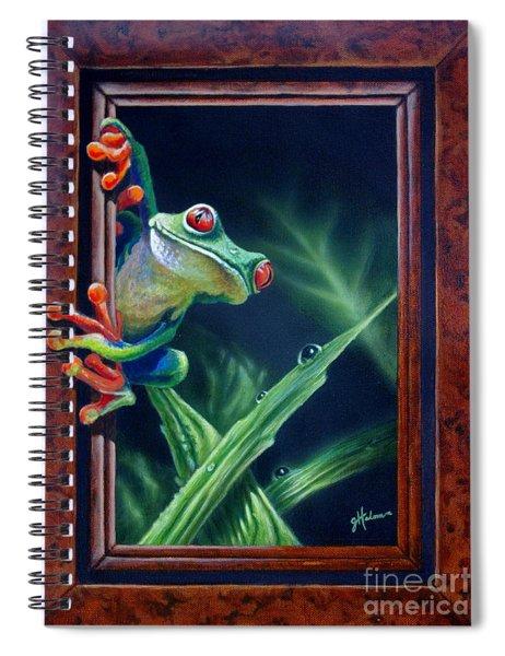 'i Was Framed' Spiral Notebook