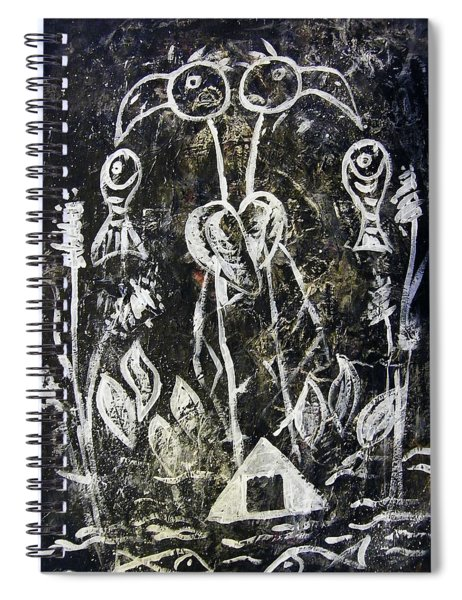 Ibis Fish And Water   A Trinity Spiral Notebook
