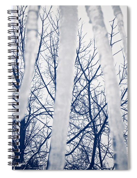 Ice Bars Spiral Notebook