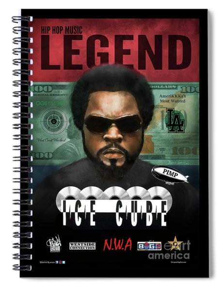 Ice Cube  Spiral Notebook