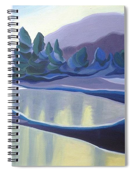 Ice Floes Spiral Notebook