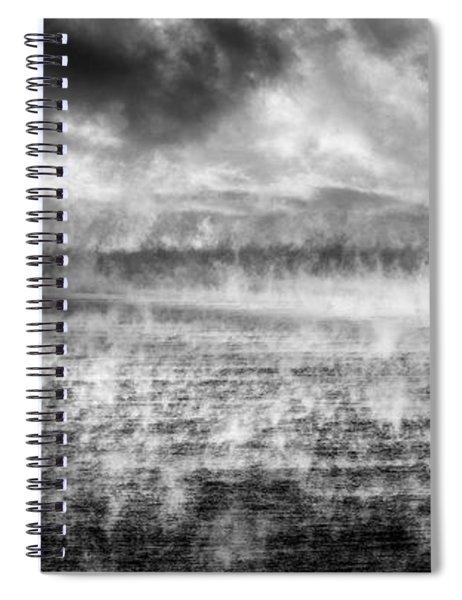 Ice Fog  Spiral Notebook