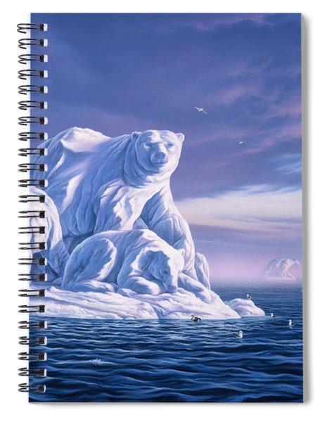 Icebeargs Spiral Notebook