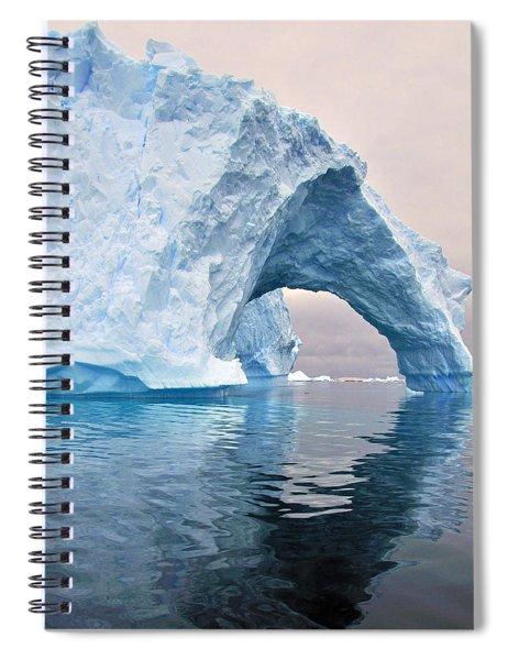 Iceberg Alley Spiral Notebook