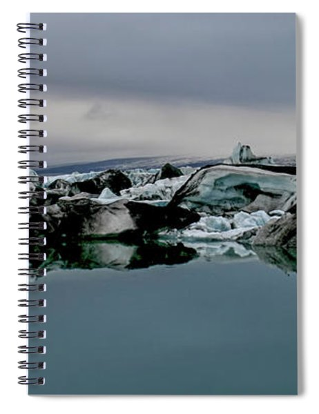 Icebergs In Iceland Spiral Notebook