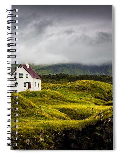 Iceland Scene Spiral Notebook