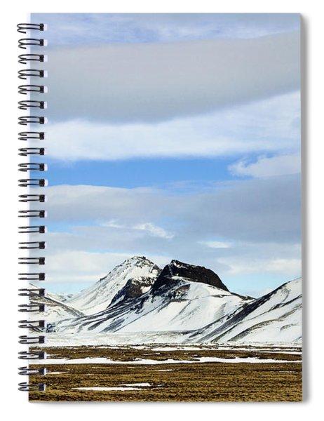 Icelandic Wilderness Spiral Notebook